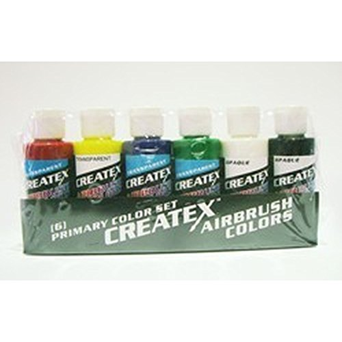 Createx 'Transparent' Starter Set ( Createx Airbrush Colors ) 115199 Airbrushfarbe -