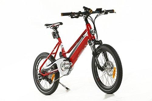 e|sonic, ebike, enfants, vélo électrique, portée jusqu'à 120KM, ajustable réglable entre 12–25km/h, Batterie freins à disque et verrouillable, avec éclairage