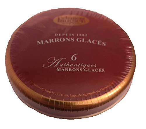 Glasierte Maronen, 140 g, Marrons glacés, Clément Faugier