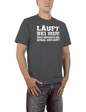 Touchlines Läuft Bei Mir, Zwar Rückwärts Und Bergab, Camiseta para Hombre