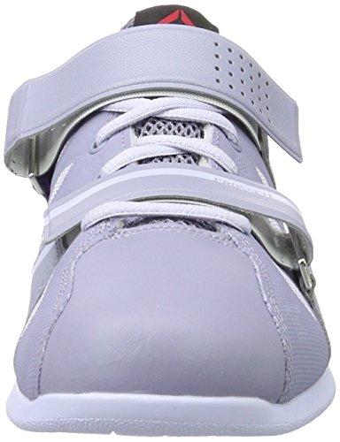 Reebok R Crossfit Lifter Plus 2.0, Chaussures de Fitness Femme Gris (Purp Fog/Lucid Lilac/Ultima Purp/Purp Del)