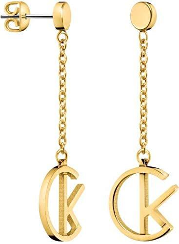 Calvin Klein Damen-Hängeohrringe Edelstahl KJ6DJE100100