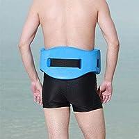 Qind - Cinturón Flotante de Espuma para Natación o Natación, para Adultos y Niños, Herramienta de Entrenamiento de Natación, Azul