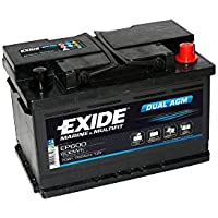 Exide EP600 DUAL AGM Leisure Marine Battery 70 Ah preiswert