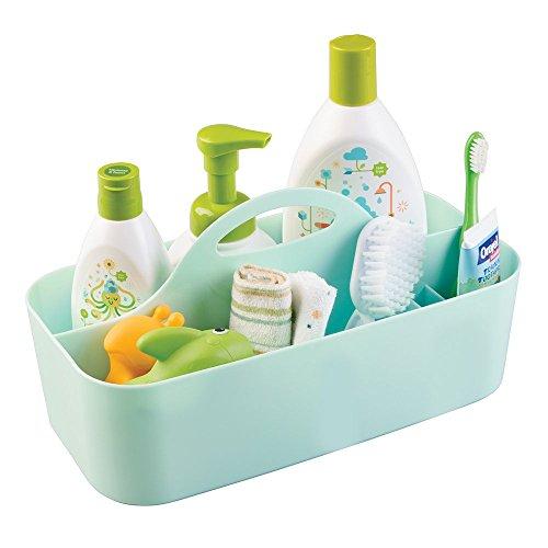 mDesign panier idéal pour ranger des flacons, lotions, savons ou ...