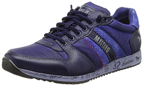 Mustang Unisex-Kinder 5039-401 Low-Top Blau (800 dunkelblau)