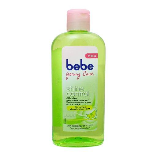 Bebe Young Care Ölfreies Gesichtswasser 200ml, für fettige und Mischhaut, glanzfreier Teint