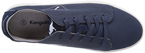 KangaROOS K-Mid Plateau 5071, Low-Top Sneaker donna Blu (Blau (navy 400))