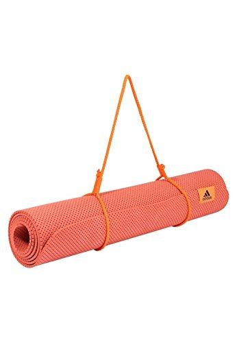 Adidas Yoga Mat Yogamatte Yoga, unisex-Erwachsene, Rot (esctra/naalre/tinnob)