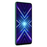 هاتف اونر 9 اكس بشريحة مزدوجة، وشاشة 6.59 انش، ذاكرة رام 6 جيجا، 128 جيجا، الجيل الرابع ال تي ايه، لون اخضر زمردي