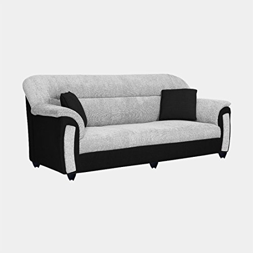 Magnificent Bharat Lifestyle New Sagittarius Fabric 3 Seater Sofa Set Machost Co Dining Chair Design Ideas Machostcouk