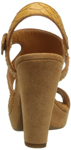 Geox D Nurit B, Sandali alla Moda Donna Marrone (Lt Brown)