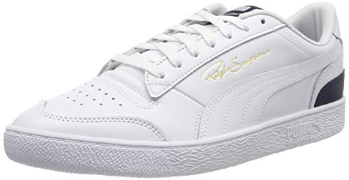 PUMA Unisex-Erwachsene Ralph Sampson Lo Sneaker, Puma White-Peacoat-Puma White, 44