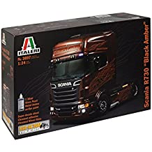 Italeri 3897 - Scania R730 V8 Black Amber Model Kit  Scala 1:24