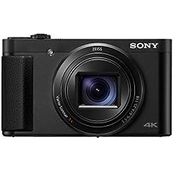 Sony DSC-HX95 Appareil Photo Compact Objectif Zoom ZEISS Vario-Sonnar 24-720 mm vidéo 4K 18,2 Mpix Noir