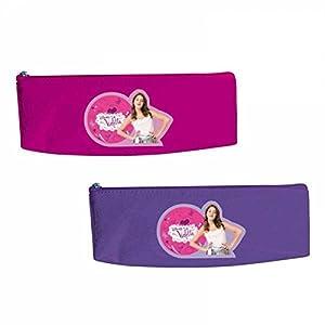 Portatodo Violetta Disney triangular surtido PRECIO UNIDAD