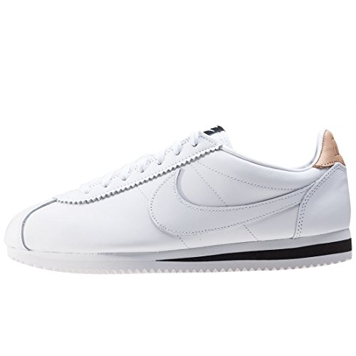 Nike Classic Cortez Leather Se, Chaussures de Fitness Mixte Adulte Blanc (blanc)
