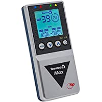 Tesmed MAX 830, Elettrostimolatore Muscolare Professionale con 20 elettrodi: massima potenza con 99 livelli di intensità, addominali, potenziamento muscolare, contratture e inestetismi