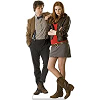 Star Cutouts Cut Out of The 11th Doctor Who Matt Smith and Companion Amy Pond Karen Gillan