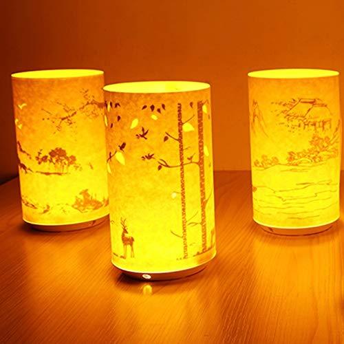 Paper Carving Nachtlicht Lade Licht Schatten Paper Carving Lampe Tischlampe Boot @@ 1