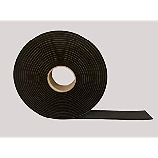 Advanced Acoustics EPDM Resilient Sealant Tape - 50mm wide by 5mm thick by 10m long Roll