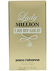 Paco Rabanne Lady Million Eau My Gold Eau de Toilette Spray for Her 80 ml