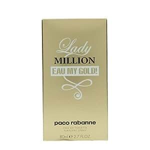 Paco Rabanne Lady Million Eau My Gold Eau De Toilette, 80ml