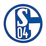 FC Schalke 04 Aufkleber Maxi Blau