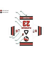 Eishockeytrikot / Inlinehockeytrikot Spieltrikot komplett nach Ihren Wünschen gestaltet