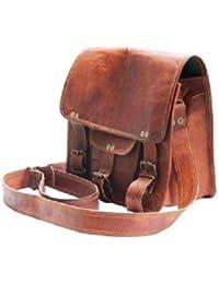 Leather Bag Brown Genuine Sling Bag By Pranjals House