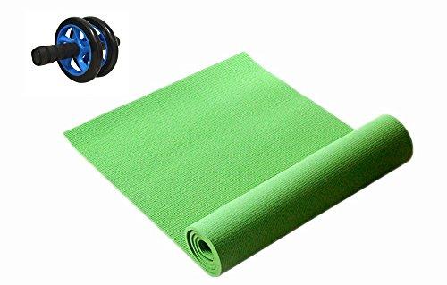 TopIn [Bauch Roller]Yoga Kissen Paket mit weicher, bequemer und geruchlos Abs-Grün