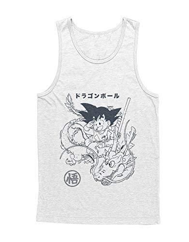 Top Goku Dragon C000669 Weiß L ()