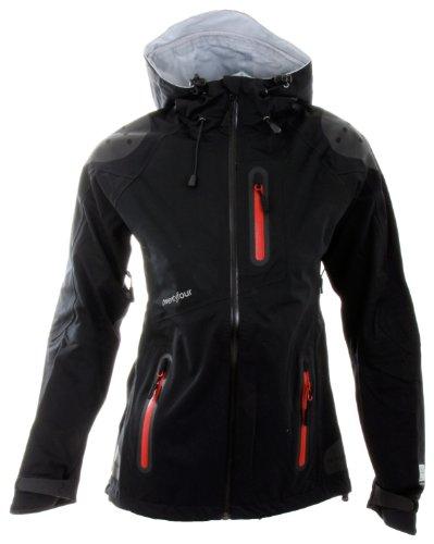 Twentyfour Almonte Women 'outdoor Jacket, Donna, Almonte, nero - nero, 42
