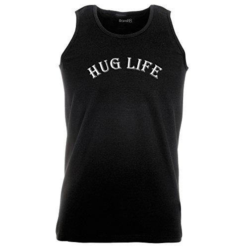 Brand88 - Hug Life, Unisex Athletic Weste Schwarz