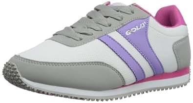 Gola Womens Gola Renew Mesh W Low-Top Trainers ALA113 Grey/Lilac/Fuchsia 4 UK, 37 EU