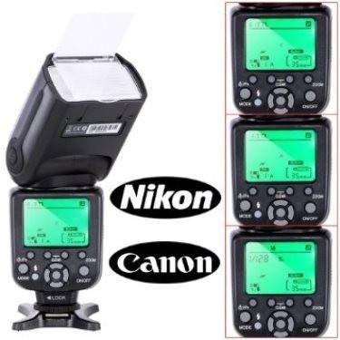 Rebel Flash Canon Für (Flash fuer digitale SLR-Kamera - TRIOPO TR-988 - Flash fuer digitale Spiegelreflexkameras von Canon und Nikon High Speed Sync Rebel SL1 XT Xti T1i T2i T3i T4i T5i XS T3i EOS 5D Mark II 2 III 3 1Ds 6D 7D 60D 50D 40D 30D 300D 100D 350D 400D 450D 500D 550D 600D 650D 700D 1000D 1100D; fuer Nikon D3S D4S D4 D800 D700 D80 D90 D50 D40x D60 D7000 D7100 D5000 D5100 D5200 D5300 D3000 D3100 D3200 D3300 D40)