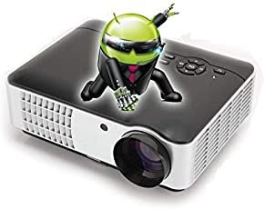 Punnkk P9 Android & WIFI Full HD LED LCD Home Theater Projector, 3500 Lumen 1080P