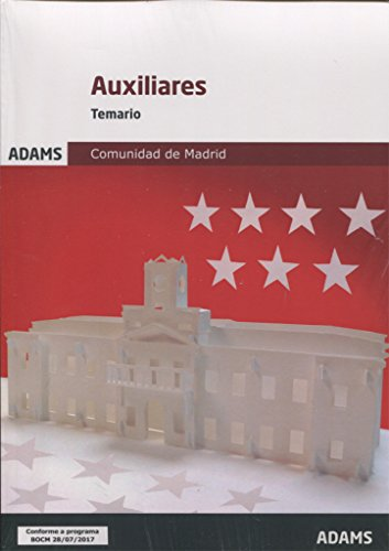 Temario Auxiliares Administrativos de la Comunidad de Madrid