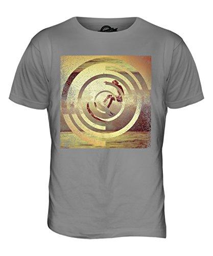 CandyMix Surfer Im Sonnenuntergang Herren T Shirt Hellgrau