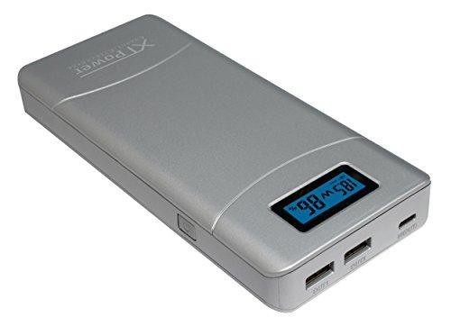 XTPower® XT-20000TC USB Type-C Powerbank mit 40 Watt Power Delivery (PD) - moderner 20400mAh Akku - 1x USB Typ-C PD / QC3, 1x USB QC2 und 1x USB - für USB Typ-C Apple MacBook und weitere.