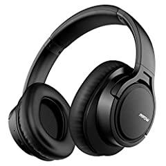 Idea Regalo - Mpow H7 Cuffie Bluetooth, Cuffie Over-Ear Con Autonomia 25 Ore, Cuffie Bluetooth Wireless 4.1, Cuffie Bluetooth Senza Fili con Microfono CVC6.0, Padiglione Super Morbido, Cuffie Per TV/Telefoni/PC