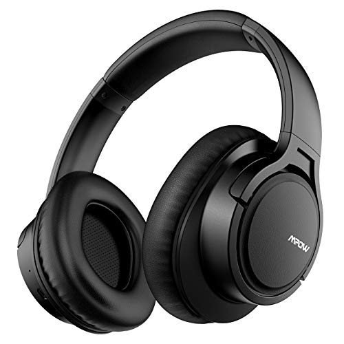 Mpow H7 Cuffie Bluetooth, Cuffie Over-Ear Con Autonomia 18 Ore, Cuffie Chiuse Wireless 4.1, Cuffie Bluetooth Senza Fili con Microfono,...