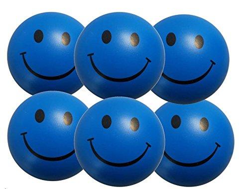 e - Smiley Stress Ball - Antistressball ,Stressballs, Knautschball - Kleiner Ball, Grosse Stresserleichterung ()