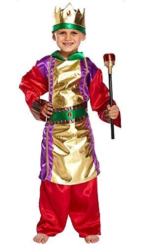 Fancy Me Jungen Königlich König Monarch Geburt Weihnachtskostüm -