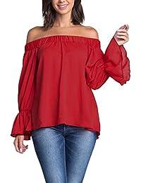 Amazon.es: Moda Asiatica - Blusas y camisas / Camisetas, tops y blusas: Ropa