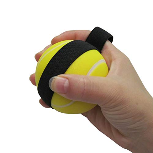 Strip-therapie (Finger Exerciser Ball Finger Strip Strength Ball Fingergeräte Trainingsgeräte-Squeeze-Therapie Stress Ball Training,4Pcs)
