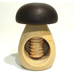 Roger orfevre Cascanueces de madera con seta Mecanismo de tornillo en 2colores *