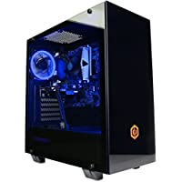 Cyberpower TT1 Xtreme VR Gaming Desktop-PC (Intel Core i5-8400, AMD Radeon RX 580 4GB, 8GB 2400MHz DDR4 RAM, 1TB 7200RPM HDD, 600W 80+ PSU, Wifi, Windows 10)