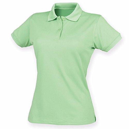 Henbury - Polo - Moderne - Femme vert citron