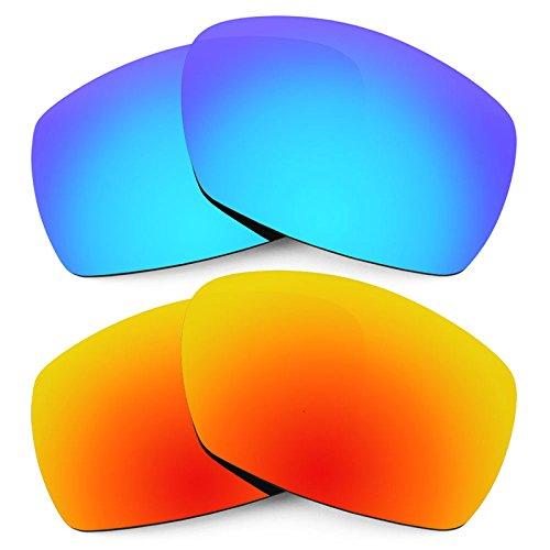 Revant Ersatzlinsen für Smith Dockside Polarisiert 2 Paar Kombipack K002